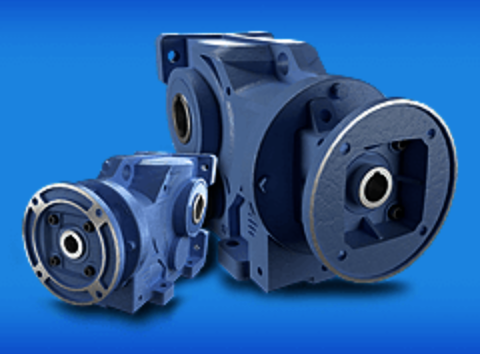 Compact Helical-Bevel Gearboxes with Cast Iron Frames Offer Installation Flexibility