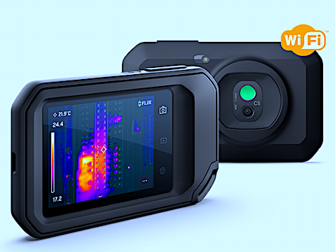 Cloud-Connecting, Pocket-Portable Thermal Camera