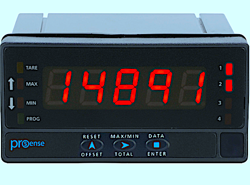 Digital Panel Meters for Pulse/Frequency & More