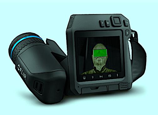 Hand-Held Thermal Camera Checks Skin Temps